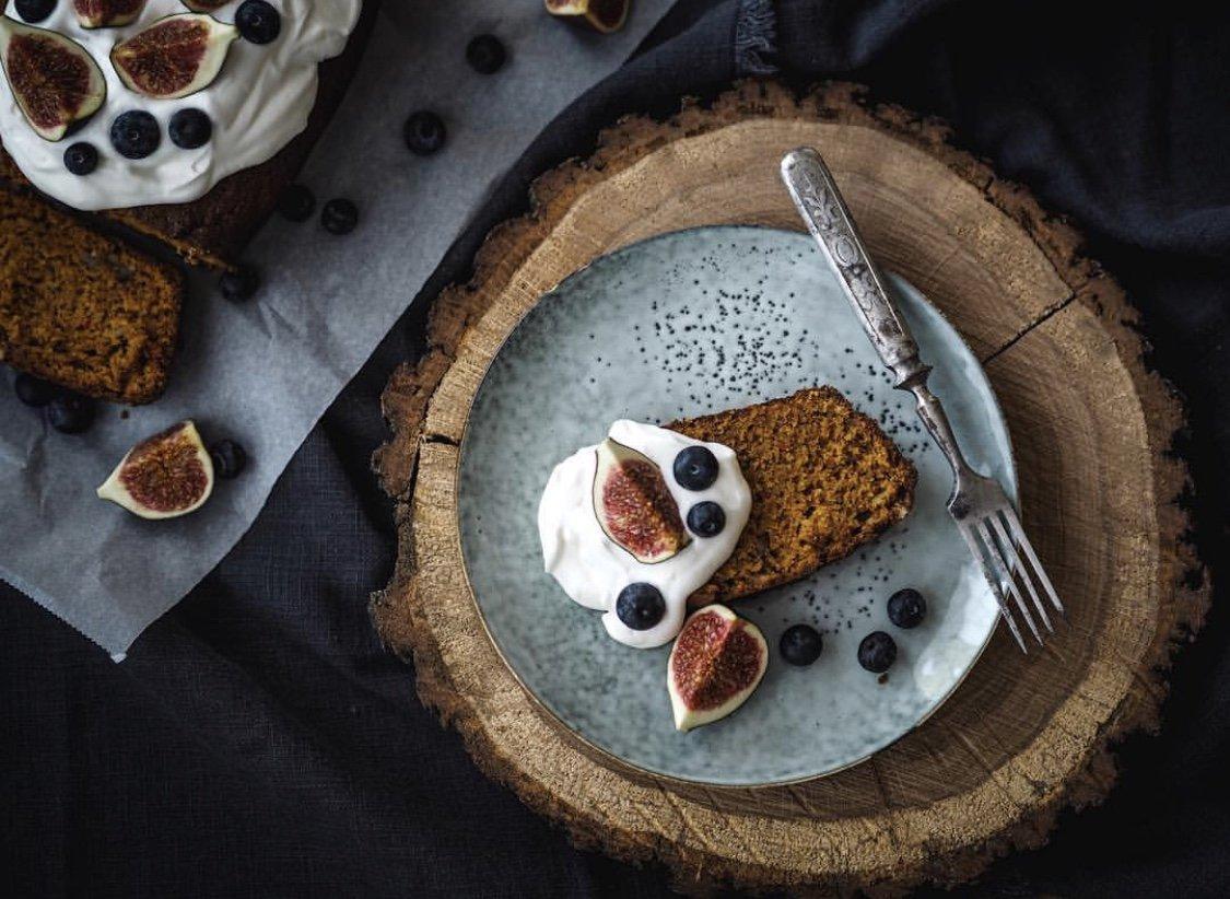 Dýňový perník s ořechy