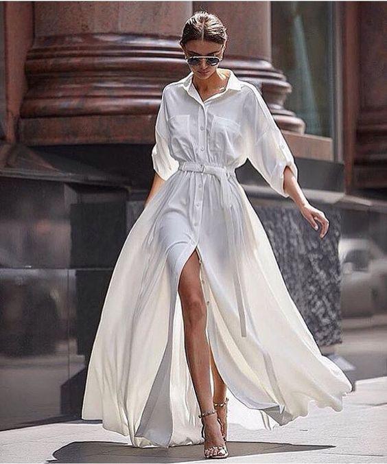 Dávka ženskosti, to jsou maxi šaty
