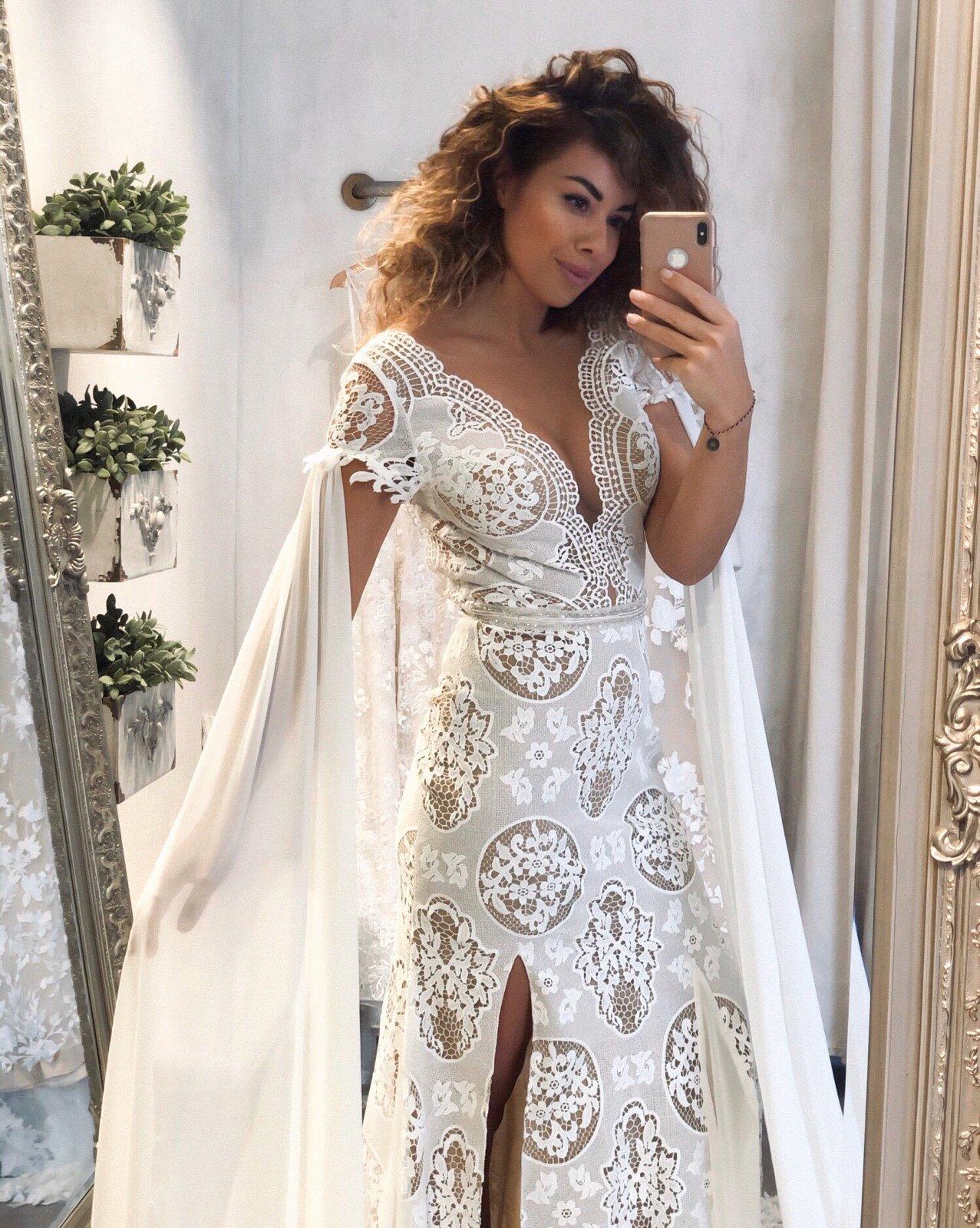 Boho australská kolekce svatebních šatů v salonu MOMENTY