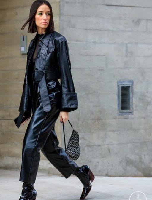 Uniforma letošního podzimu bude kožený all black outfit