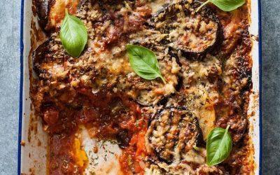 Parmigiana di melanzane – recept ze Sicílie
